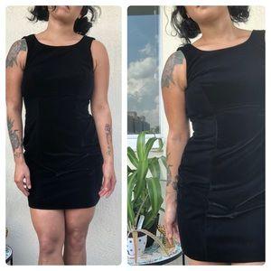 VNTG⭐️Hugo Buscati Black Velvet Dress!